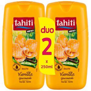 Tahiti Gel Douche Vanille Gourmande - 2 x 250 ml