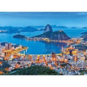Clementoni Puzzle Rio de Janeiro, Brésil 1000 pièces