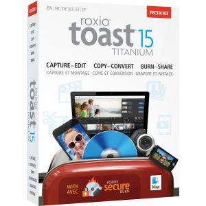 Toast Titanium 15 pour Mac OS