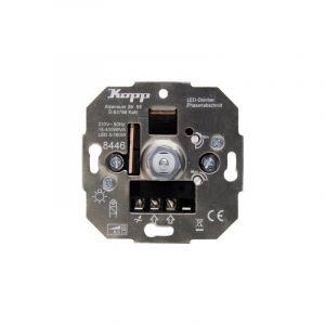 Kopp 844600004 Variateur encastré Adapté pour: Ampoule électrique, Lampe halogène, Lampe LED