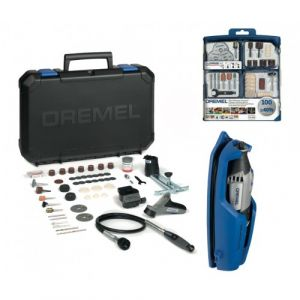 Dremel 4000 multi-fonction 175W 65 accessoires+coffret 100 accessoires