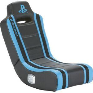 e-concept X-Rocker Sony Geist à bascule noir/bleu - Siège gamer