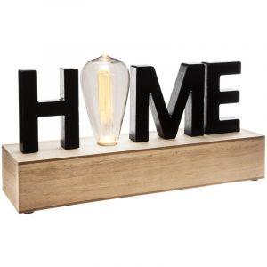 Atmosphera Décoration lumineuse LED Home Noir