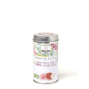 Quai Sud Préparation pour boisson Pomme et hibiscus