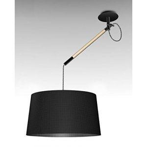 Mantra Suspension design Nordica Noir Métal et bois 4929
