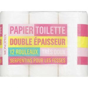 Monoprix Papier-toilette double épaisseur