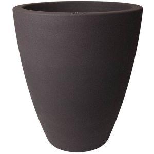 Elho Pot de fleur rond Allure Ellips Ø 47 x 54 cm - Marron