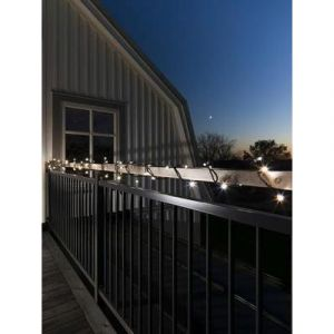 Konstsmide 6420-150 - Micro guirlande lumineuse LED blanc froid pour l'intérieur/extérieur