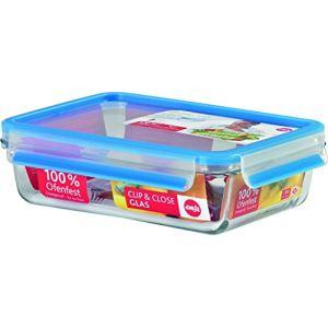 Emsa 513920 - Boîte alimentaire en verre (1,4 L)