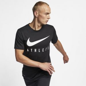 Nike Tee-shirt de training Dri-FIT Homme - Noir - Taille XL - Male