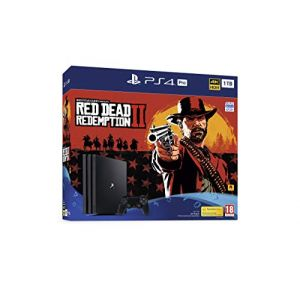 Sony Playstation Ps4 Pro 1 to Red Dead Redemption 2 Bundle