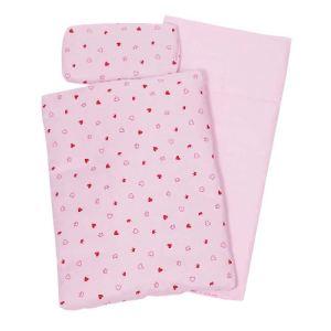 Goki 51861 - Linge de lit pour poupon