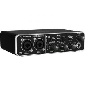 Behringer U-Phoria UMC202HD - Interface audionumérique USB