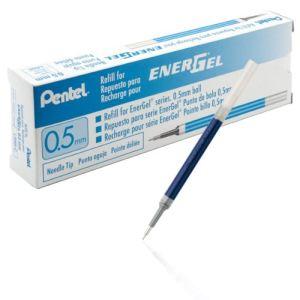 Pentel 12 recharges pour roller Energel BLN75