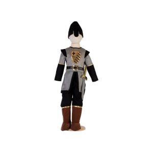 Travis Designs Costume medieval soldier grey/black - 3 à 5 ans