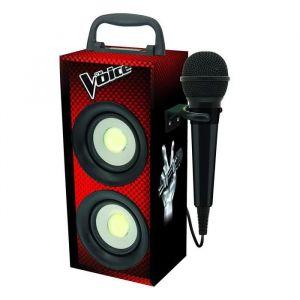 Lexibook THE VOICE Mini tour Bluetooth karaoké avec micro L