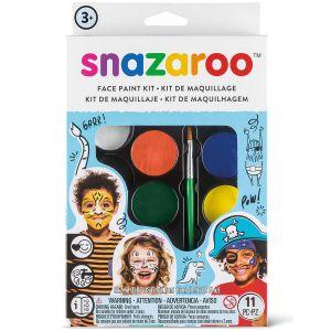 Snazaroo 10103 - Kit Maquillage - Aventure