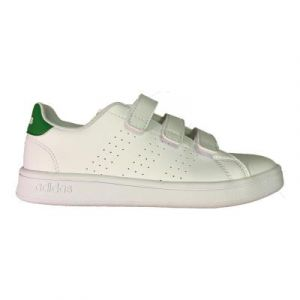 Adidas Chaussures casual Advantage C Blanc / Vert - Taille 28