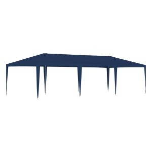 VidaXL Tente de réception 4x9 m Bleu