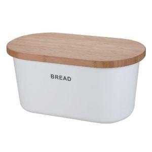 Zeller Boîte à pain Grevenmacher en mélamine et bambou