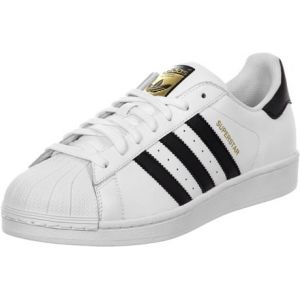 Image de Adidas Originals - Superstar - Baskets - Mixte Adulte - Blanc (FTWR White/Core Black/FTWR White) - 36 2/3 EU