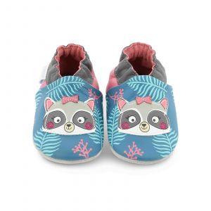 Robeez RACOONSISTER, Chaussures de Naissance Mixte bébé, (Turquoise 22), 17/18 EU