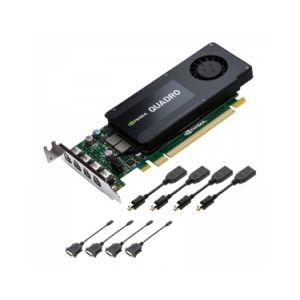 PNY VCQK1200DVI-PB - Carte graphique NVIDIA Quadro K1200 4 Go GDDR5 PCIe 2.0 x16