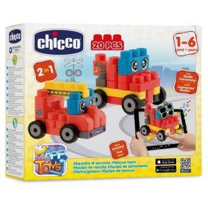 Chicco Boite construction véhicule de secours 20 pièces