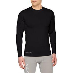 Uhlsport Baselayer Distinction - Maillot à manches longue - Homme - Noir - Taille: XL