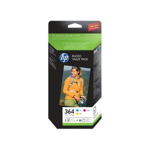 HP T9D88EE - Photo Value Pack C/M/Y n°364 Advanced Photo
