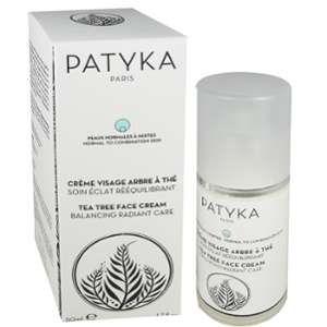 Patyka Crème visage arbre à thé 50ml