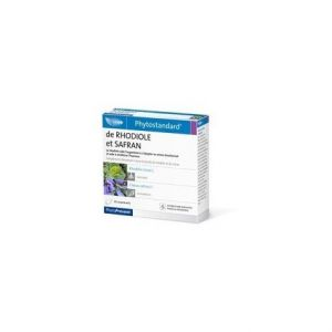 Pileje Phytostandard Rhodiole Safran - 30 comprimés