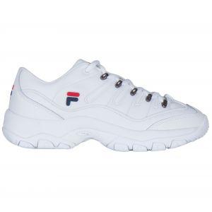 FILA Strada Hiker Low Wmn - Baskets Femme, Blanc