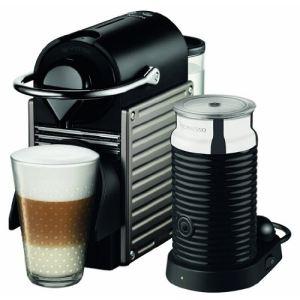Krups XN301 T - Nespresso Pixie avec émulsionneur de lait Aeroccino