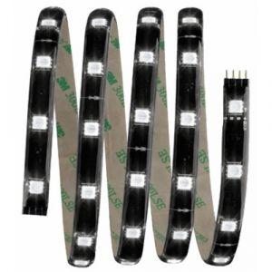 Paulmann Set YourLED 1.5 m rouge, vert, bleu, 14.4W 230/12V 24 VA noir plastique