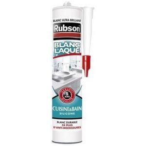 Rubson Mastic silicone sanitaire blanc laque cartouche 280ml