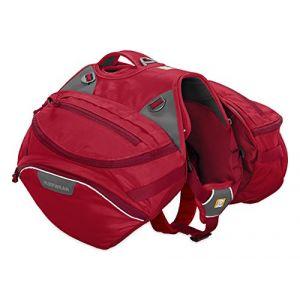 Ruffwear Sac de bât pour chien Palisades Pack rouge Taille : M