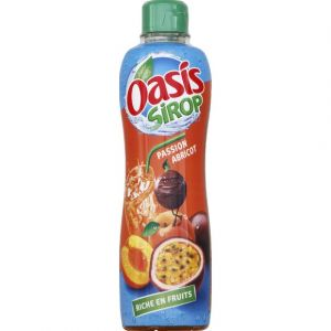 Oasis Sirop passion et abricot