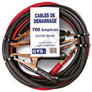 GYS 056404 - Jeu de cables de démarrage 4,50 mètres 35mm²