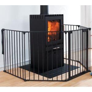 Baby Dan Flex 5  - Barrière de sécurité pour cheminée (60-300 x 80 cm)