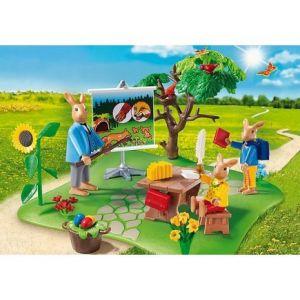 Playmobil 6173 City Life - École de lapins de Pâques