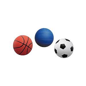 Stats 3 mini ballons de sport