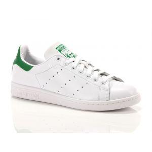 Adidas Originals Stan Smith - Baskets Mode Mixte Adulte - Blanc (Running White FTW/Running White/Fairway) - 44 2/3 EU