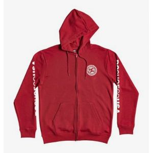 DC Shoes Circle Star - Sweat à capuche zippé pour Homme - Rouge