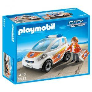 Image de Playmobil 5543 City Action - Urgentiste avec voiture