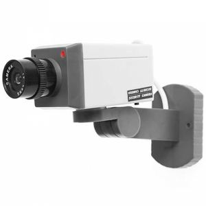 Fake Motorisée - Caméra de Surveillance factice