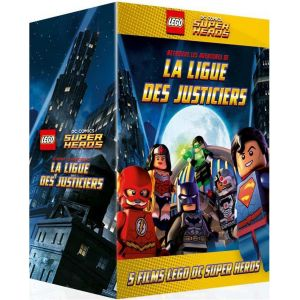 Coffret Lego DC Comics Super Heroes : Lego Batman + La Ligue des Justiciers vs Bizarro + L'Attaque de la Légion Maudite + L'affrontement Cosmique + S'évader de Gotham City