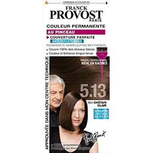 Franck Provost 5.13 Châtain clair glacé - Couleur permanente au pinceau