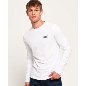 Superdry T-shirts Orange Label Vintage Embroidery - Optic White - XS