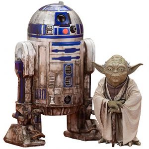 Kotobukiya Star Wars Figurines PVC Artfx+ Yoda et R2-D2 Dagobah